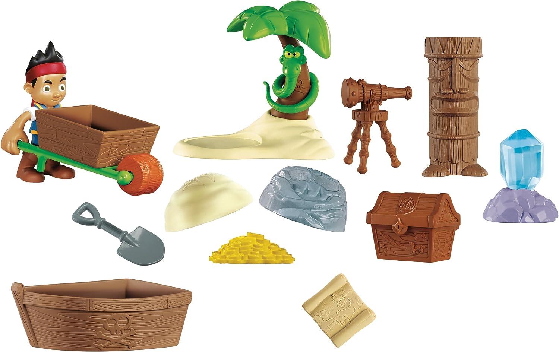Jake y los Piratas - Set de Juego, Tesoro de Nunca Jamás (Mattel ...
