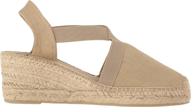 Toni Pons Women's 'TER' Fabric Espadrille B01MEHH89Q 35 (US 5) M Stone Linen