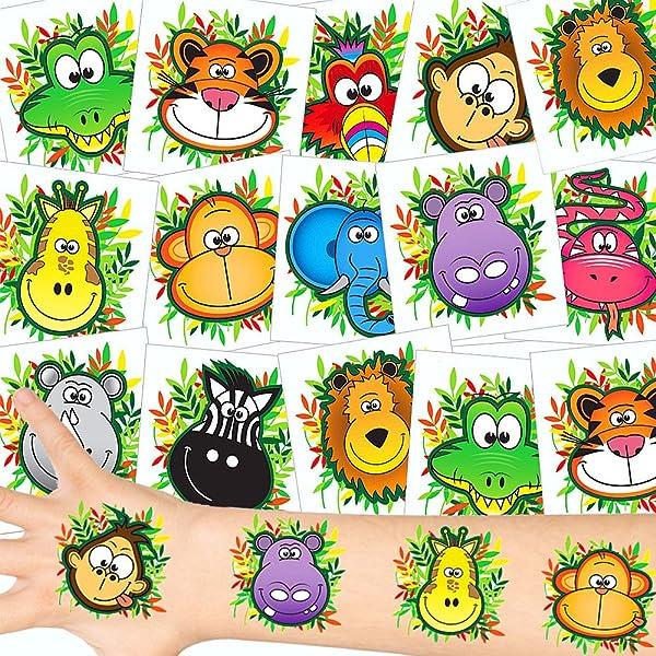 Baker Ross Mini Animales de la Selva, Novedad elástica Bate y Bola ...