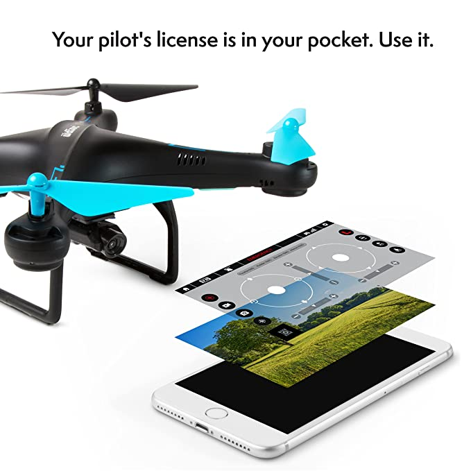 Amazon.com: Force1 Drone con cámara de video en vivo-