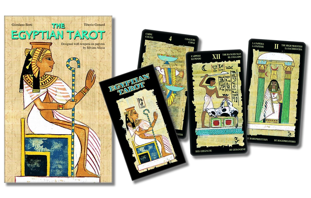 Download The Egyptian Tarot kit ebook