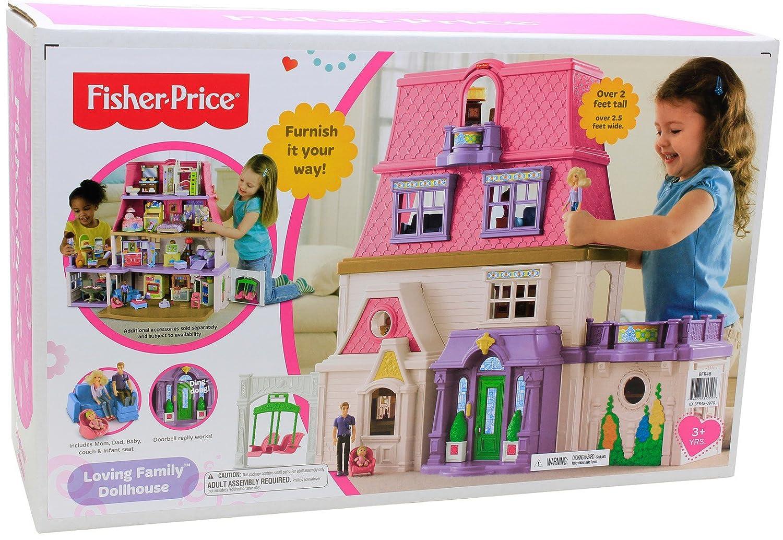 Loving Family Bedroom Furniture Amazoncom Fisher Price Loving Family Dollhouse Toys Games