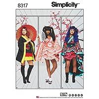 "Simplicity Creative Patterns US8317U5 Sewing Pattern Crafts, 16""/18""/20""/22""/24"""