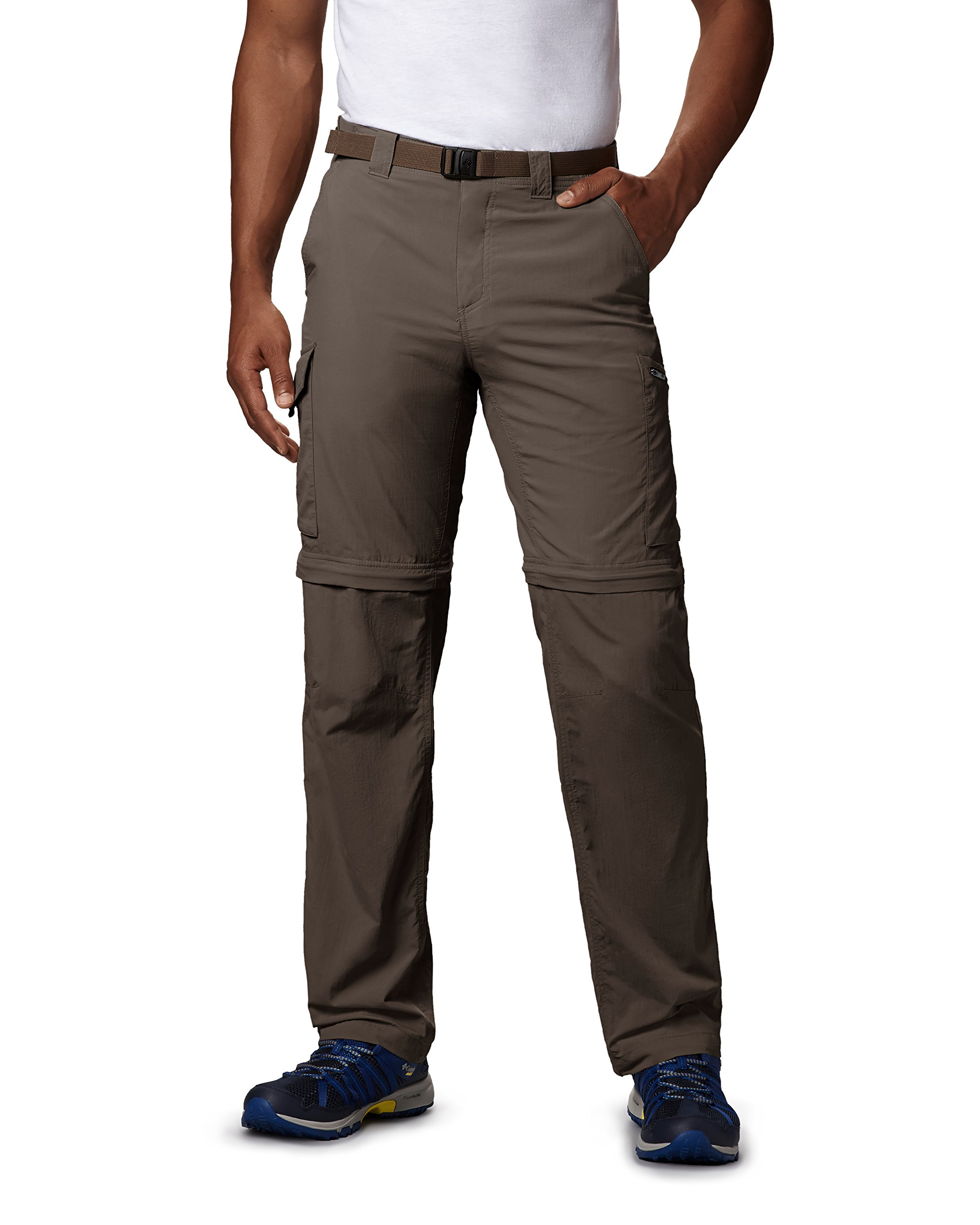 Columbia Standard Men's Silver Ridge Convertible Pant, Breathable, UPF, Major, 36x32 by Columbia