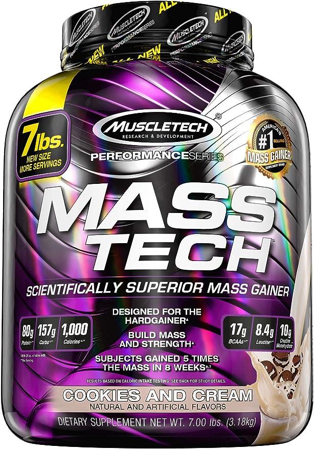 Muscletech Performance Series Mass-Tech Cookies and Cream - 3200 gr