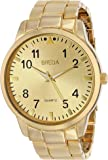 Breda Men's 1659C Gold-Tone Watch