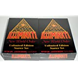 Illuminati New World Order Card Game Unlimited Edition Starter set Second Printing with colored Titles by Steve Jackson 1994-1995
