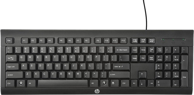 HP K1500 - Teclado alámbrico - QWERTY Español, negro