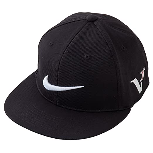 Amazon.com  NIKE Dri-FIT Flat Bill Tour Caps - Medium Large - Black ... deedee03df6