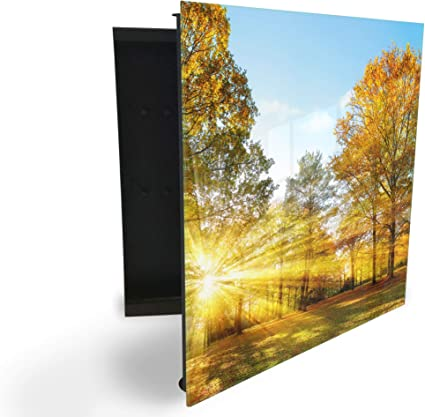 GlassArtist HMF 89060539 - Caja para Llaves (30 x 30 cm, con ...