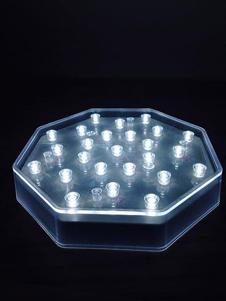New Shape Led Light Base With 25 Bright White Lights Vase Uplight