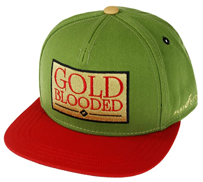 Flat Fitty Gold Blooded Snap Back Cap (OSFA 40db8db7965