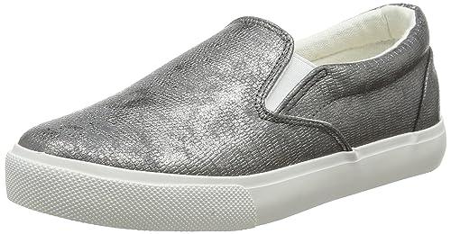 New Look Metter, Zapatillas sin Cordones para Mujer, Plateado (Silver 92), 41 EU: Amazon.es: Zapatos y complementos