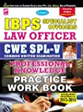 IBPS Specialist Officer SO Law Officer CWE - 5 Online Exam (Professional Knowledge) Practice Work Book—English - 1506