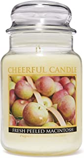 product image for A Cheerful Giver Fresh Peeled Macintosh Jar Candle, 24-Ounce