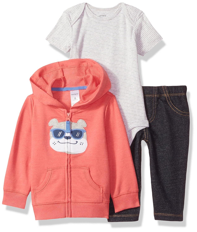 Carter's Baby Boys/Toddlers '3 Piece Chaqueta/Pantalones/Conjunto de Body