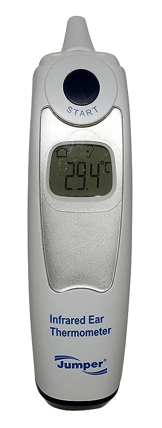 Jumper Medical – jpd-001 de fr301 Digital de Infrarrojos Termómetro de oído con intercambiable