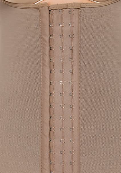 53945f996322b 3 Hooks Colombian Shapewear Post Surgery Compression Garment Girdle 473  (2XS)