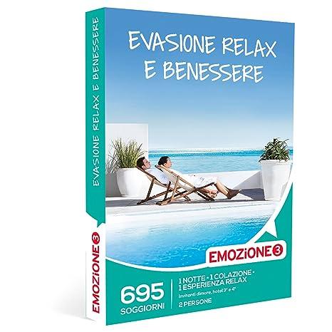 EMOZIONE3 - Cofanetto Regalo - EVASIONE TRA RELAX E BENESSERE - 695 ...