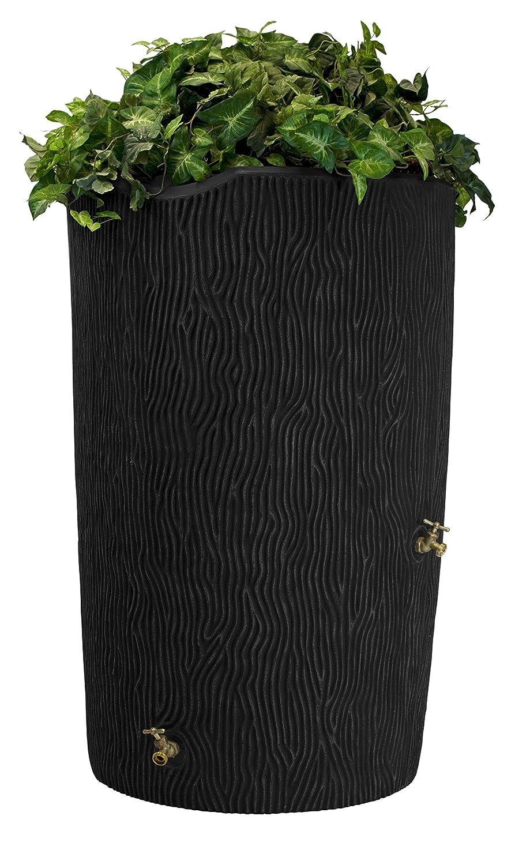 decorating plastic rain barrels