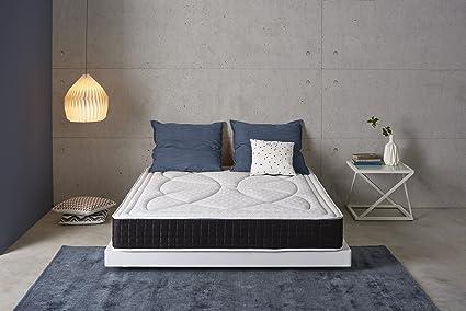 Living Sofa SIMPUR Relax | COLCHÓN VISCO Evolution Confort ANTICALOR | 80X180 | 20CM Grosor Aprox | Tejido HIPOALERGÉNICO Tratamiento Natural ERGONOMÍA ...