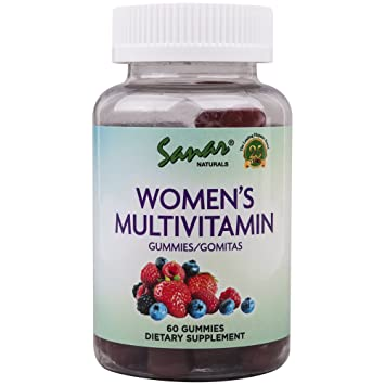 Amazon.com: Sanar Naturals Womens Multivitamin Gummy, 60 ...