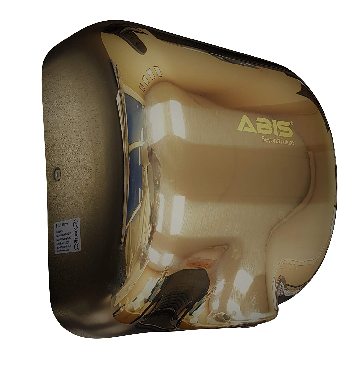 ABIS Hand Dryer - High Speed Automatic Electric Heavy Duty Stainless Steel Commercial
