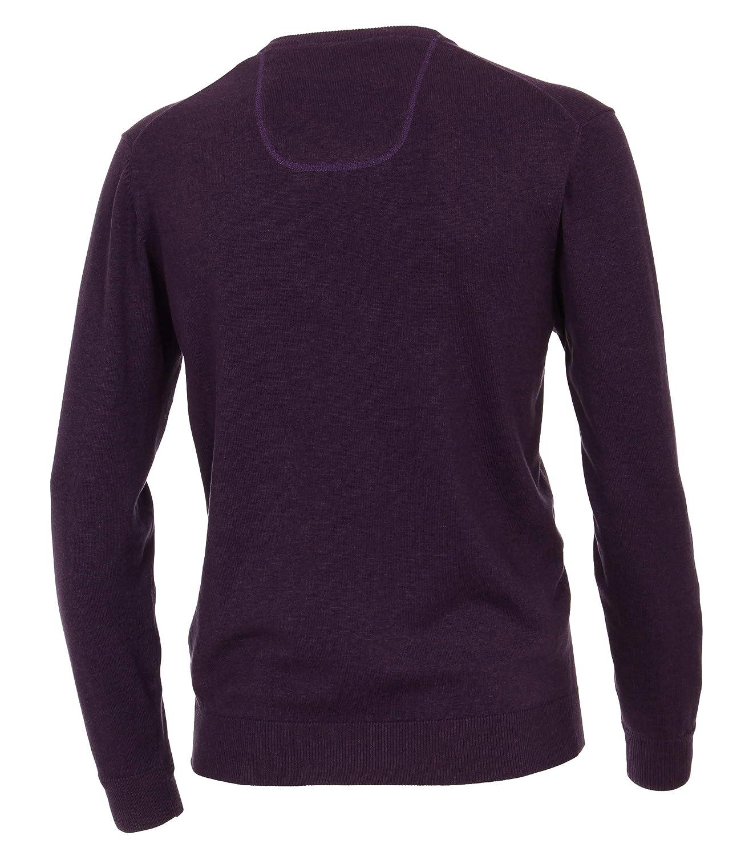 CASAMODA Herren Pullover Pullover Pullover mit V-Ausschnitt unifarben 004430 Elastischer Bund B07GCKB7H8 Pullover Sorgfältig gefertigt de5a30