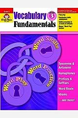 Vocabulary Fundamentals, Grade 3 Paperback