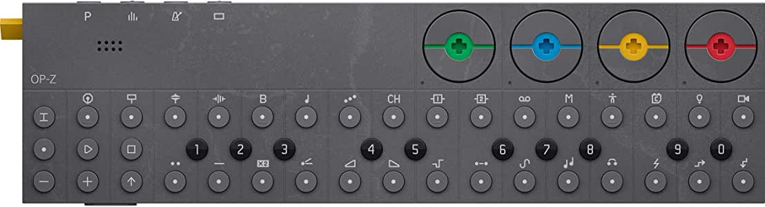 Teenage Engineering OP-Z Wireless Bluetooth Multimedia Synthesizer and Sequencer for iOS, Mac, Android