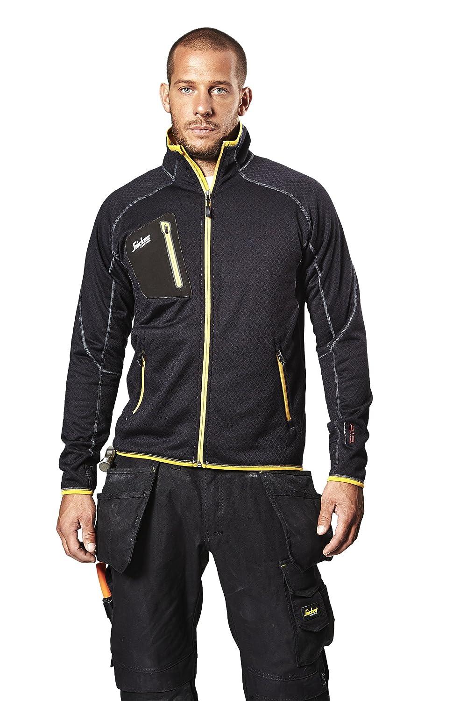 23bdb541 Snickers 80150404006 Fleece Jacket A.I.S. Size L in Black: Amazon.co.uk:  DIY & Tools