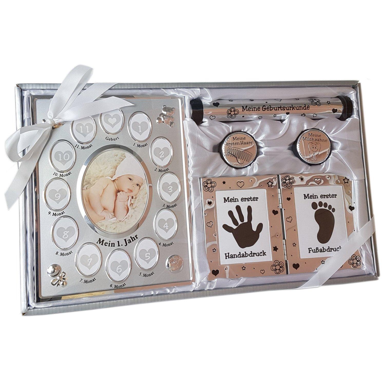 geschenk zur geburt baby geschenkset neutral f r eltern. Black Bedroom Furniture Sets. Home Design Ideas