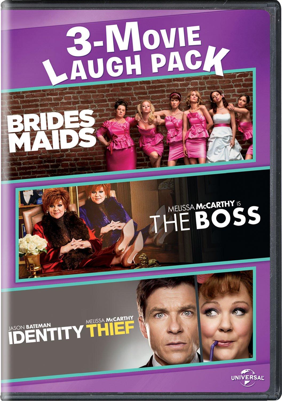 Bridesmaids / The Boss / Identity Thief 3-Movie Laugh Pack