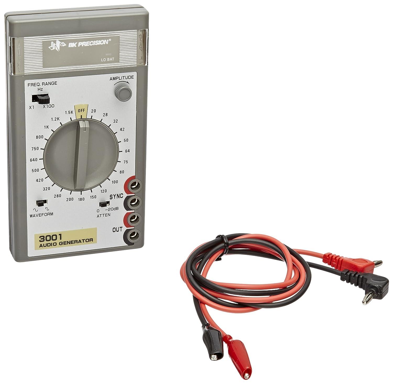 B/&K Precision 3001 Sine//Square Wave Audio Generator 20 Hz-150 kHz