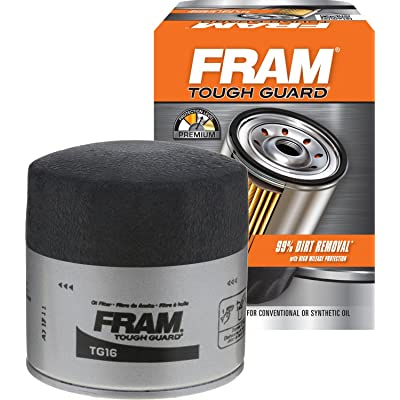 FRAM TG16 Tough Guard Passenger Car Spin-on Oil Filter: Automotive