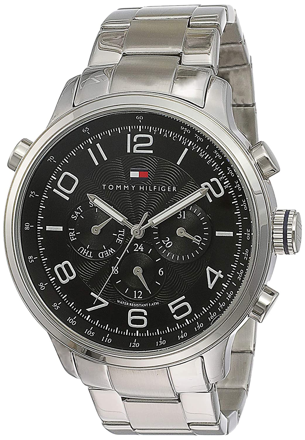 06b826adb Buy Tommy Hilfiger Analog Black Dial Men's Watch - NATH1790965 Online at  Low Prices in India - Amazon.in