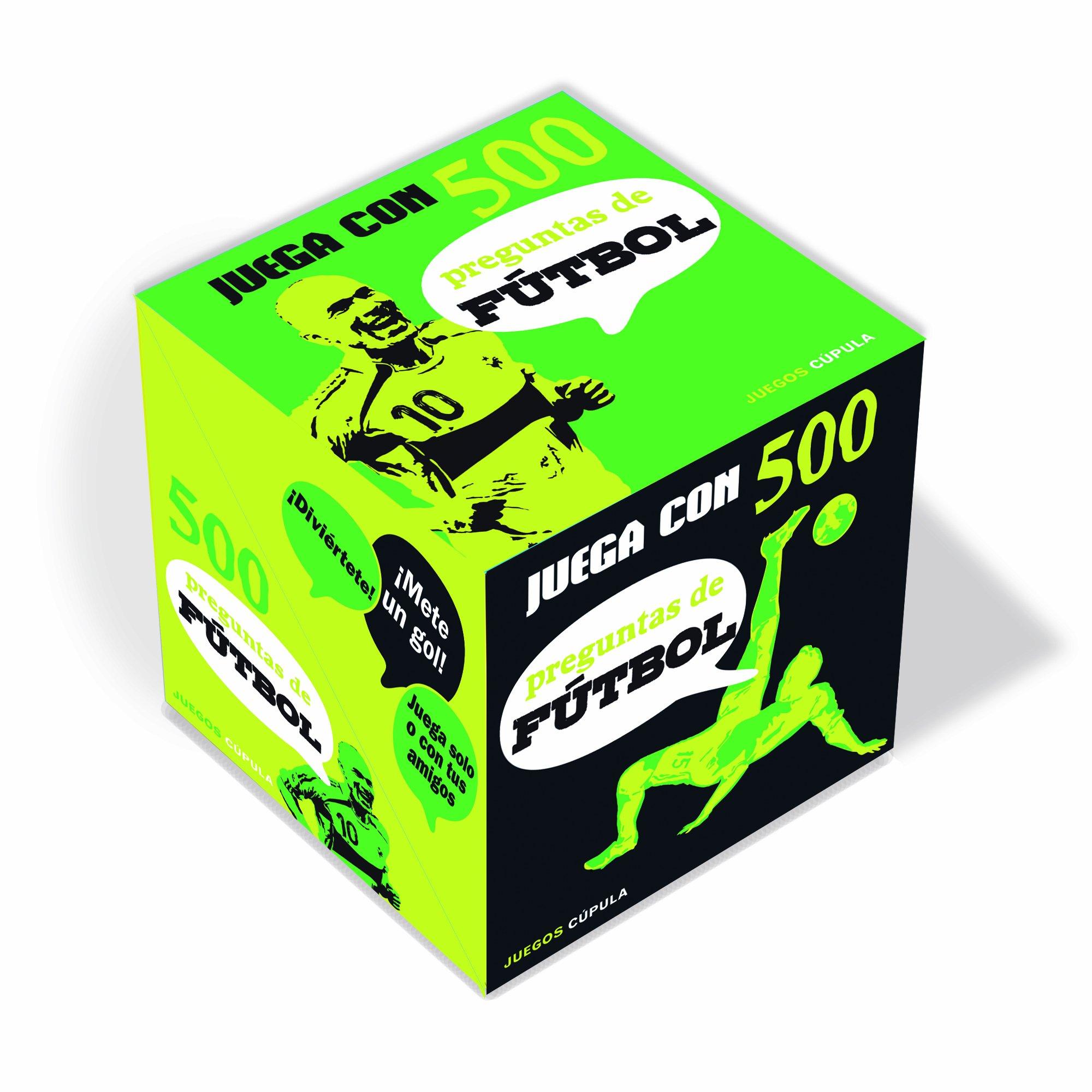 Juega con 500 preguntas de fútbol (Juegos Cúpula): Amazon.es: AA. VV., Parangona Realització Editorial S.L.: Libros