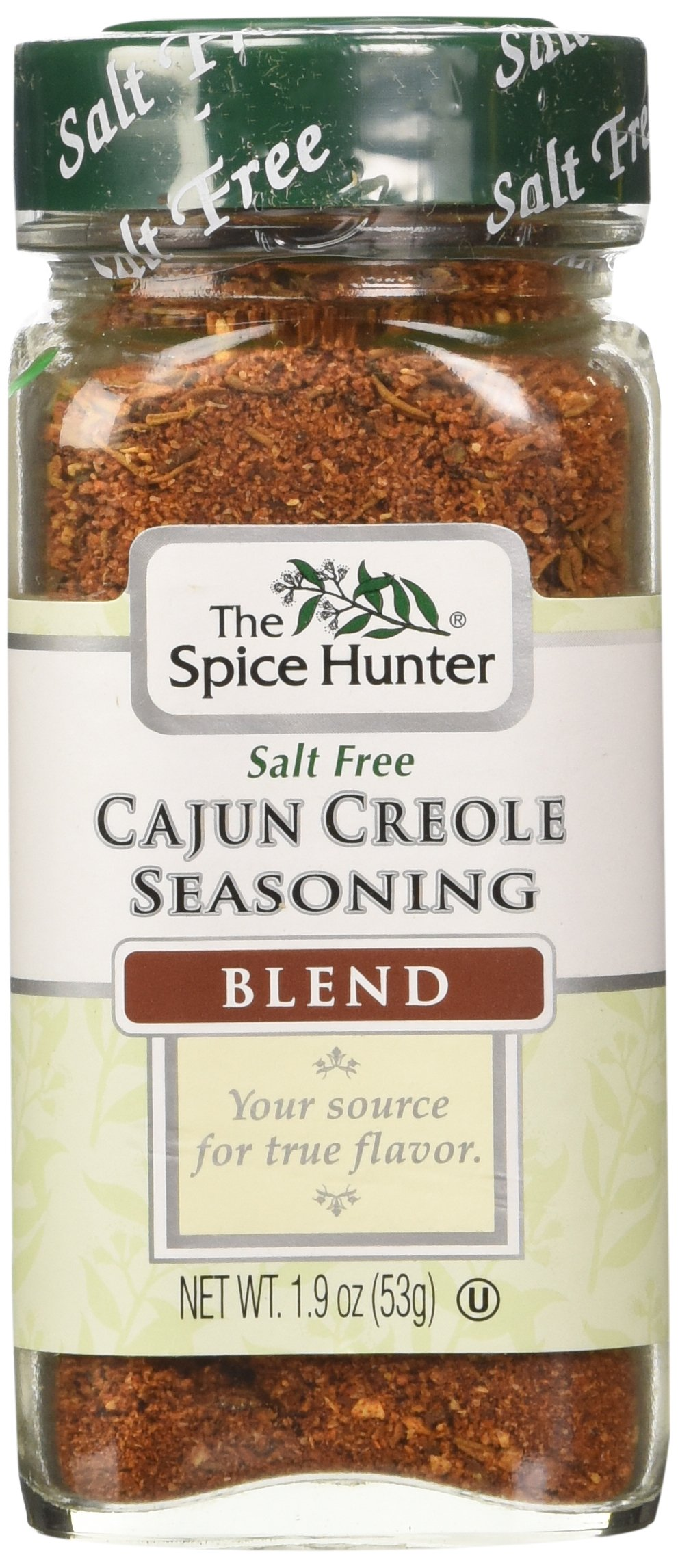 The Spice Hunter Cajun Creole Seasoning Blend, 1.9-Ounce Jars (Pack of 6)