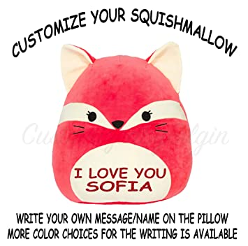 ef0791d031e9 Image Unavailable. Image not available for. Color: Squishmallow Customized  Original Kellytoy Fifi The ...