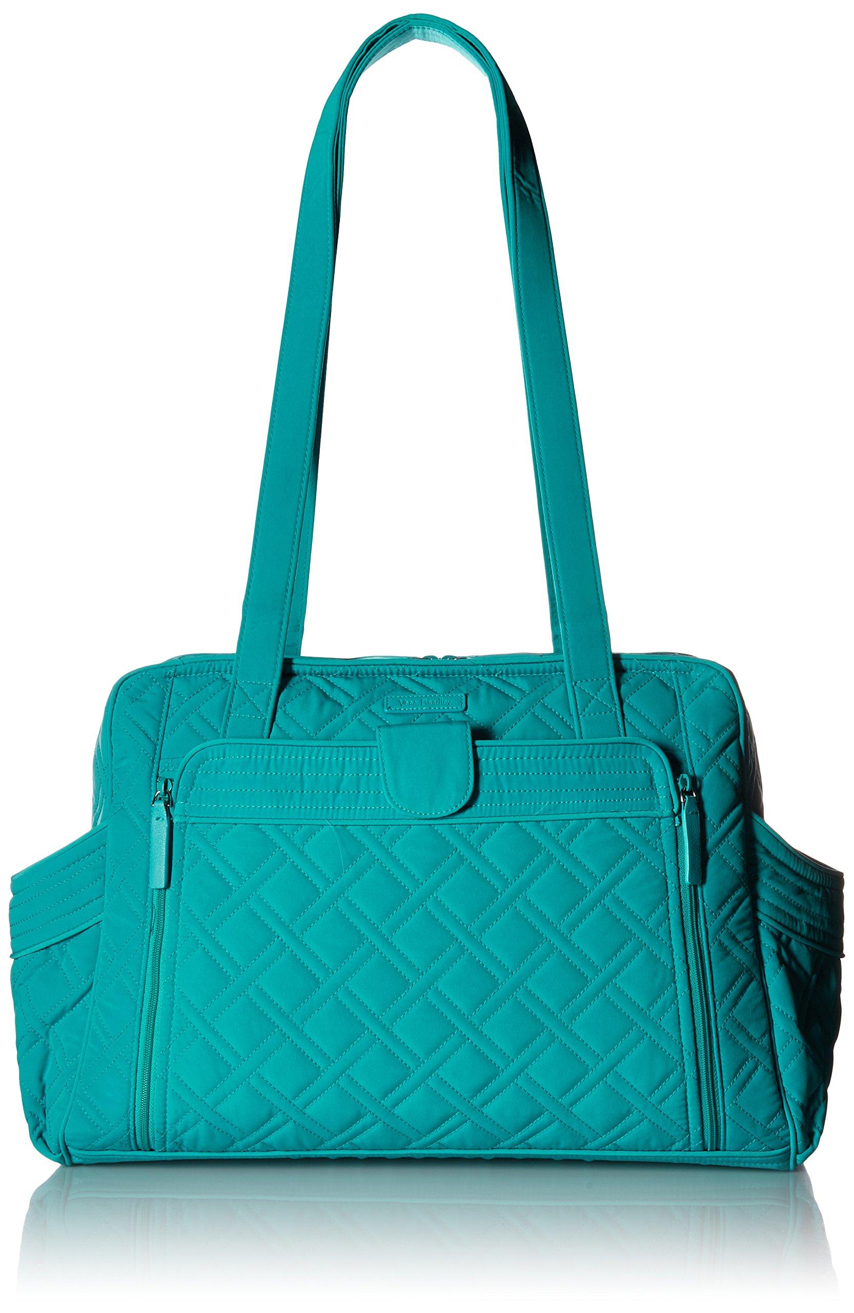 Vera Bradley Women's Stroll Around Baby Bag, Turquoise Sea