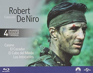 Pack: Robert De Niro [Blu-ray]: Amazon.es: Robert De Niro, Sharon Stone, Joe Pesci, Nick Nolte, Jessica Lange, John Cazale, Christopher Walken, Meryl Streep, Kevin Costner, Sean Connery, Andy Garcia, Martin Scorsese, Michael