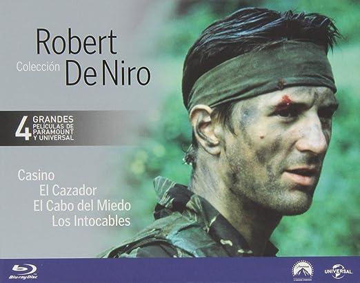 Pack: Robert De Niro [Blu-ray]: Amazon.es: Robert De Niro, Sharon Stone, Joe Pesci, Nick Nolte, Jessica Lange, John Cazale, Christopher Walken, Meryl Streep, Kevin Costner, Sean Connery, Andy Garcia, Martin Scorsese, Michael
