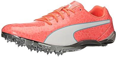 47c95ff6 PUMA Men's Evospeed Electric 6 Track Shoe, Peach White-nrgy ...