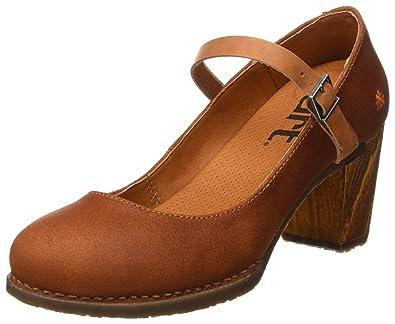 Salzburg, Zapatos de Tacón con Punta Cerrada para Mujer, Rojo (Wax Amarante), 40 EU Art