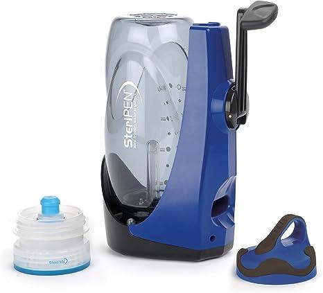 Steripen Sidewinder - Purificador de Agua Manual portátil por luz Ultravioleta (Recargable): Amazon.es: Deportes y ...