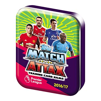 Match Attax EPL 2016/17 Mini Lata con Cartas (podrían no ...