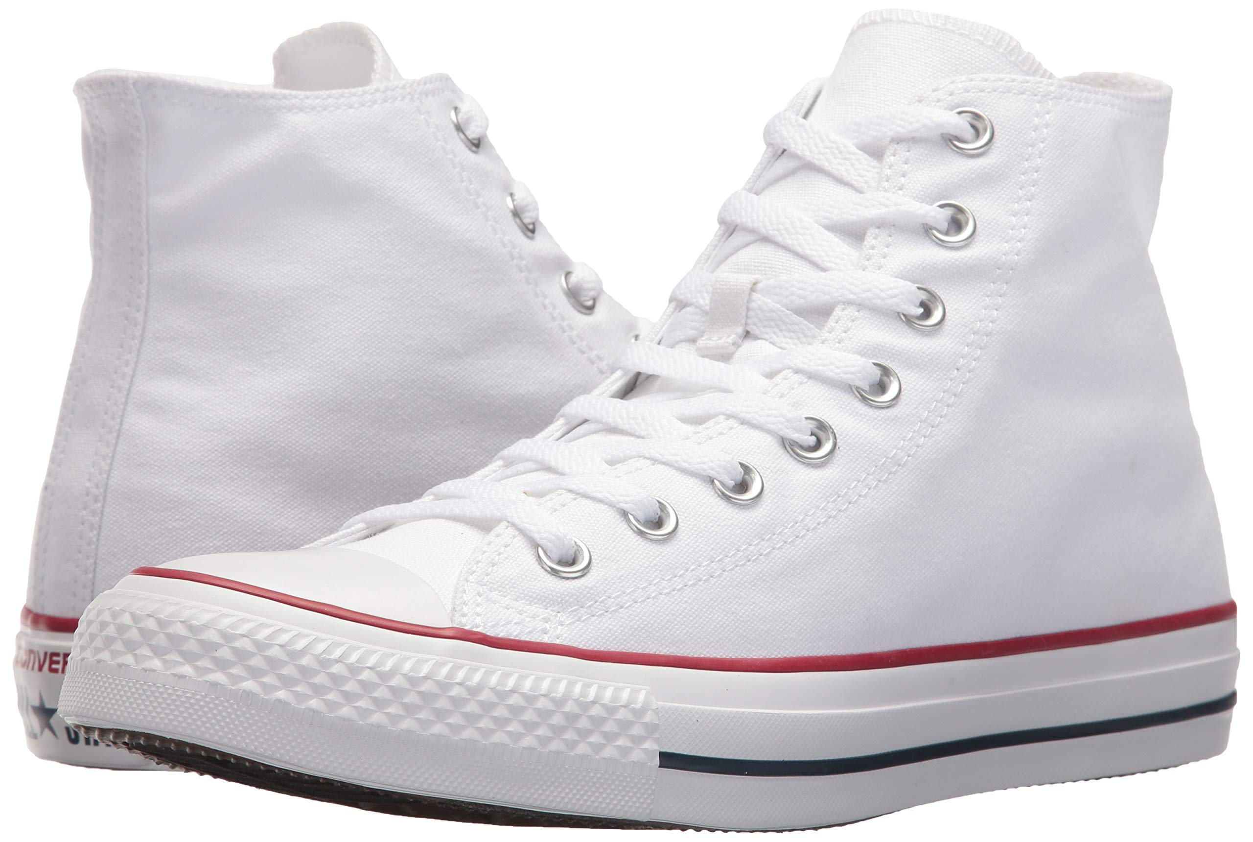 Chuck Taylor All Star Canvas High Top, Optical White, 3 M US by Converse (Image #6)