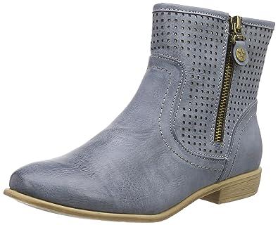 8de46f9f6b66 Rieker Y2565 Damen Halbschaft Stiefel  Amazon.de  Schuhe   Handtaschen