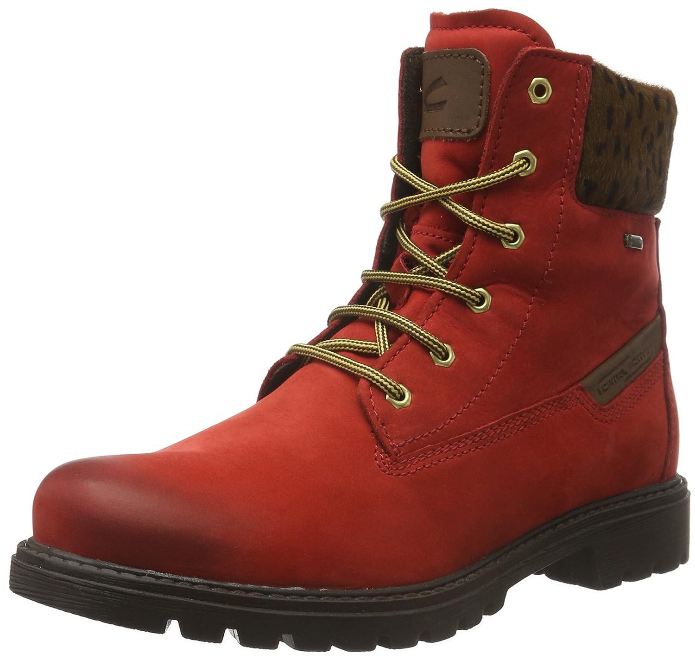 Camel Active Outback GTX 72, Botines para Mujer38 EU|Rojo (Red/Brown 21)