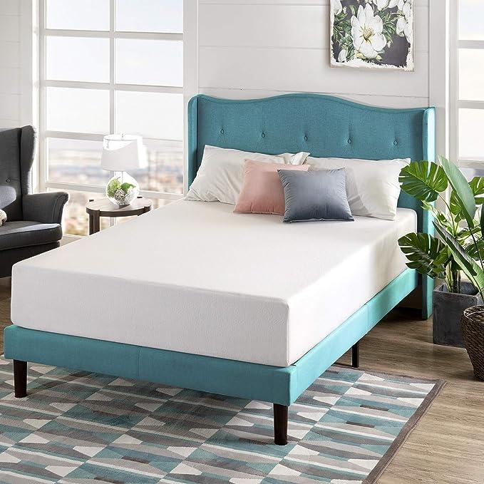 Zinus 12 Inch Green Tea Memory Foam Mattress Certipur Us Certified Bed In A Box Pressure Relieving Queen Furniture Decor